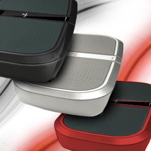 Sportstech Profi Vibrationsplatte VP300 mit 3D Wipp Vibrations Technologie + Bluetooth A2DP Musik