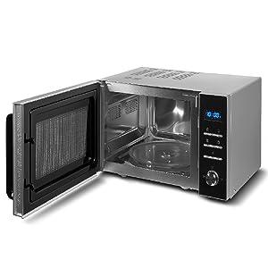 MEDION MD 18043 - Microondas 3 en 1, 900 W, grill de 1000 W, aire ...