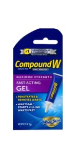 Compound W Fast Acting Wart Removal Gel