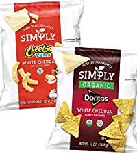 simply cheetos doritos snacks chips white cheddar organic no artificial