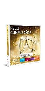 Feliz cumpleaños caja regalo Smartbox