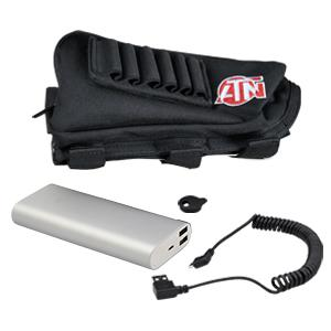 cap and Butt ACMUBAT160 ATN Extended life Battery Pack 20000 mAh with usb cable