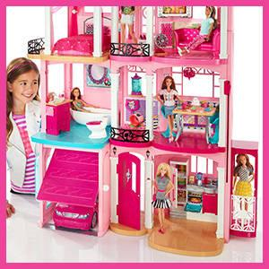 barbie dreamhouse mattel ffy84 juguetes y juegos. Black Bedroom Furniture Sets. Home Design Ideas