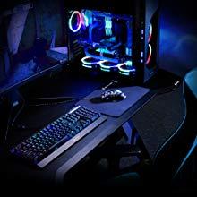 Sharkoon SKILLER SGD1 – Mesa para Gaming, Madera y Acero, Negro ...