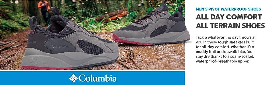 Columbia Men's Pivot Waterproof Trail Shoes
