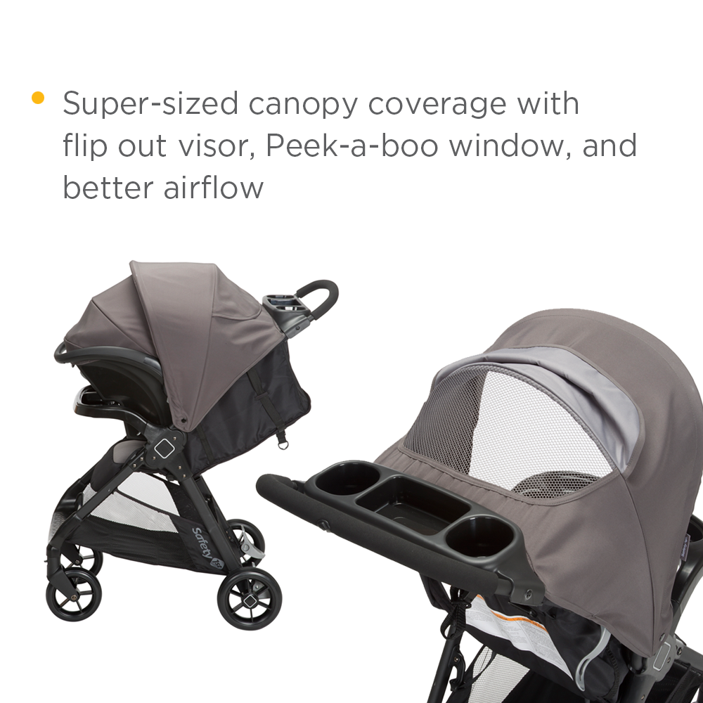 Safety St Smooth Ride Travel System Manual Lt