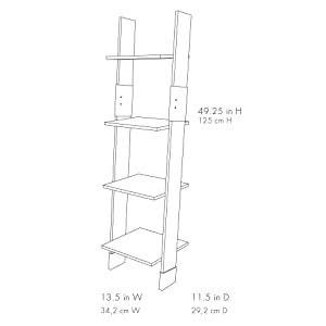 Amazon.com: Zenna Home Ladder Style Bathroom Linen Tower, Espresso: Furniture & Decor