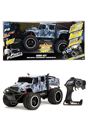 Fast & Furious and Hobb's MXT R/C RC Radio Control Fate of the Furious Jada Toys