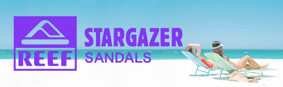 Stargazer Sandals Women's Reef Beach Freely