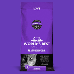 WORLDS BEST CAT LITTER/™ Multiple Cat Lavender Scented 32-Pounds