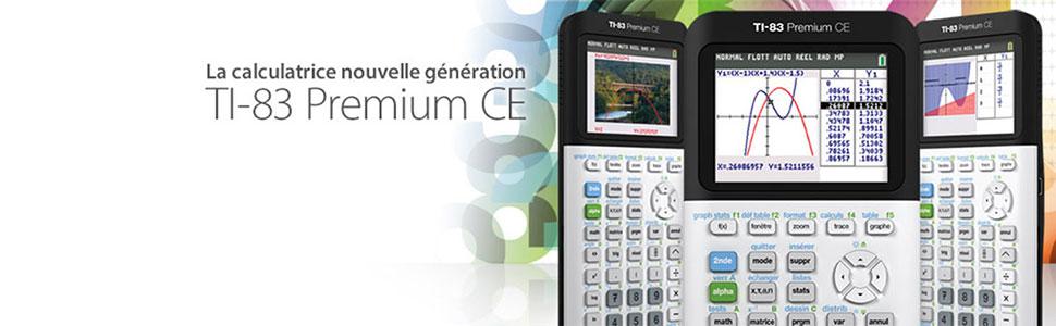 TI 83 CE, texas instrument, python, calculette, calculatrice