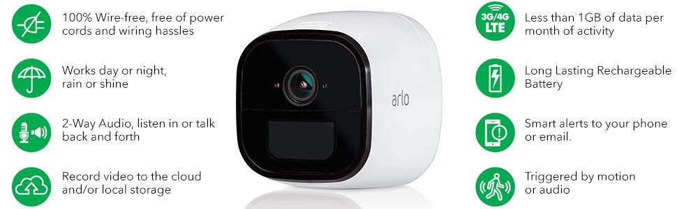 Arlo Go Features