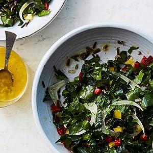 Emerald City Salad, salad, kale, fennel, chard, fresh, healthy