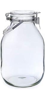 密封 瓶 びん 梅酒 果実酒 梅 保存 容器 ガラス 硝子 取っ手 取って 取手 付き つき cellarmate 星硝 日本製 国産 JAPAN 脱気 密閉 シンプル 耐熱 清潔 便利 収納