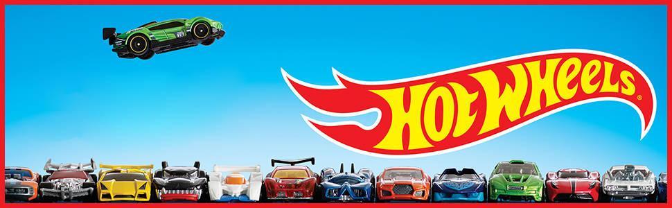 Mattel Hot Wheels DXH60 - Adventskalender 2017, inklusiv 8 Fahrzeuge