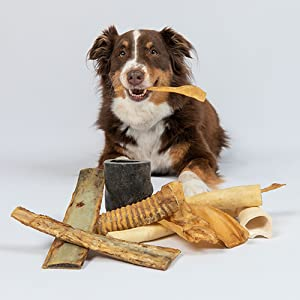 Pet Craft Supply Pure Natural Grass Fed Water Buffalo Horn Durable Tough Dog Chew Aggressive Chewers