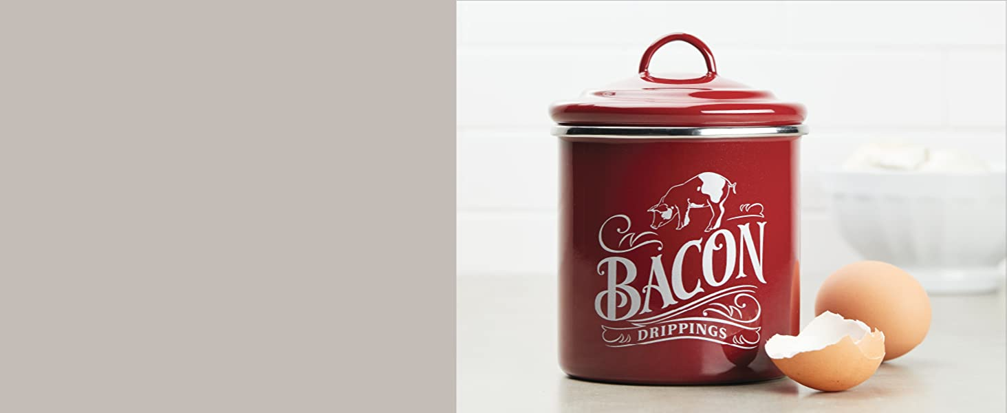 ayesha curry, bacon grease container, grease tin, grease can