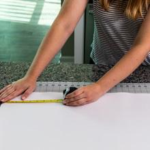 measuring shelf liner