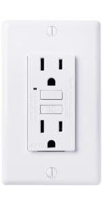 faith gfci outlet white GLS-15A-WH-10 GLS-15A-WH gfi receptacle