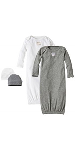 Burt's Bees Baby Romper Jumpsuit Organic Cotton Clothing Sleeper PJs Pajamas