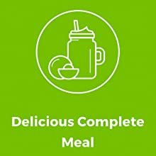 delicious complete meal replacement powder shake smoothie