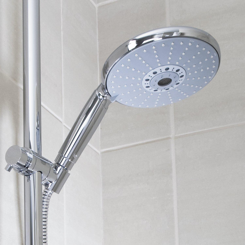 grohe 28756000 rainshower cosmopolitan 160 hand shower with 4 spray options diy. Black Bedroom Furniture Sets. Home Design Ideas