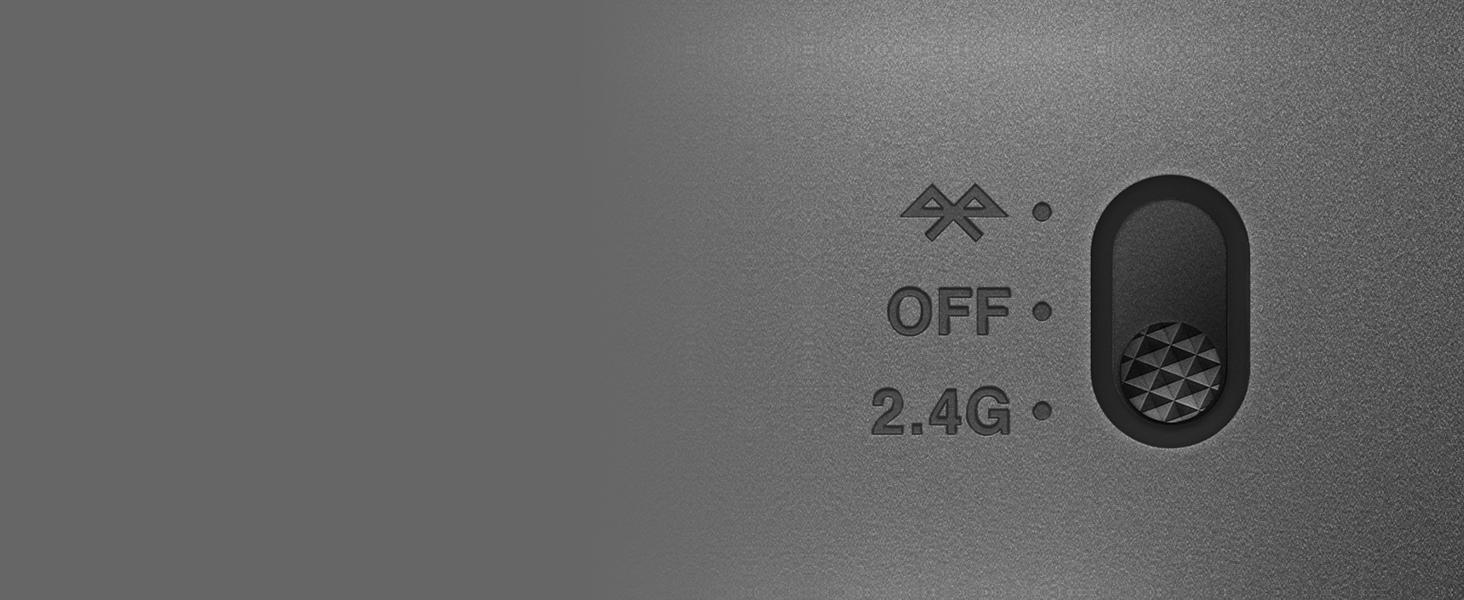 Aerox 3 Wireless dual wireless switch with Bluetooth and 2.4G options