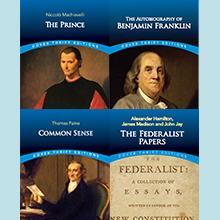 Hamilton, Franklin, Machiavelli, Madison, Paine