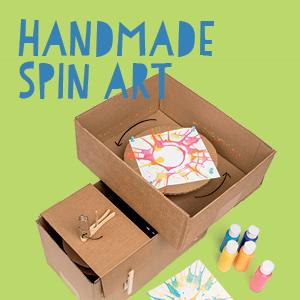 Handmade Spin Art