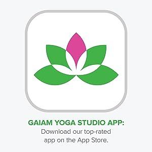 Gaiam Yoga Studio App