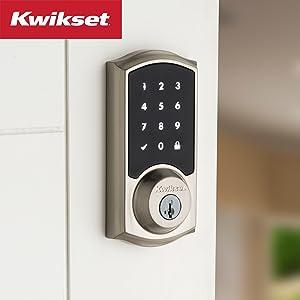 kwikset;smartkey security;smart lock;deadbolt;touch screen;electronic lock;door lock;zwave;smartcode