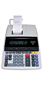 Adding machine calculator with tape tax keys book keeping accounting