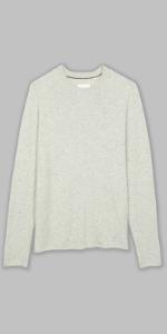 silk saddle sweater