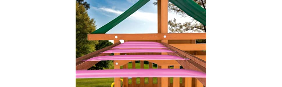 These DIY Monkey Bars From Creative Cedar Designs Are An Easily Installed  Play Set Accessory That Will Promote Hours Of Backyard Play.
