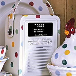 DAB Radio, FM Radio, Retro Mini Radio, VQ, Bluetooth speaker, Emma Bridgewater