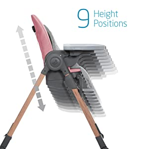 9 Height Positions