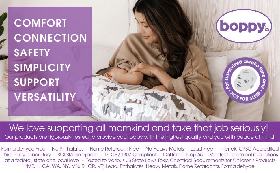 Boppy Nursing Pillow, Boppy Safety, Nursing Pillow Safety, Quality Baby Pillow, Boppy Pillow