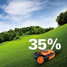 Worx Landroid Rasen-Mäh-Roboter für Steigungen bis 35%
