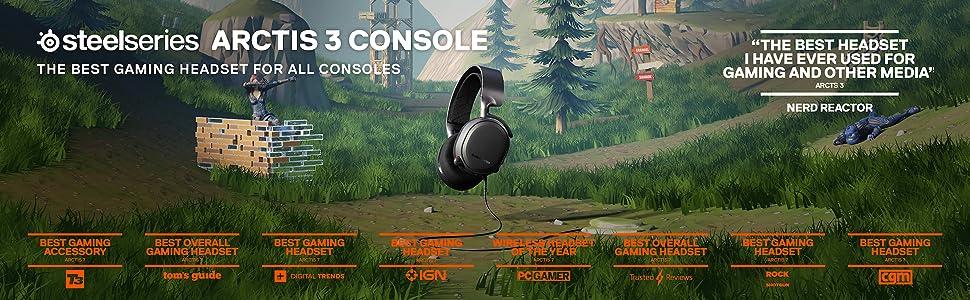 SteelSeries Arctis 3 Console