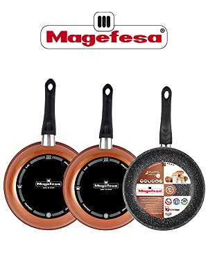 Magefesa Copper Lote 3 ST(24/26/28): Amazon.es: Hogar