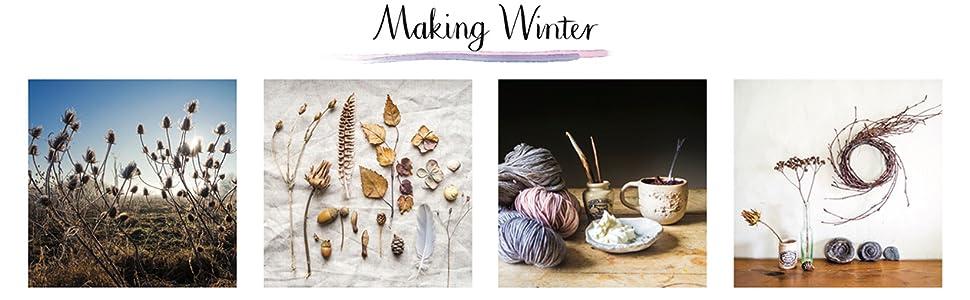 winter art crafts scandinavian baking jewellery autumn nature countryside hygge wellbeing christmas