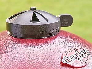 kamado, akorn, grill, damper