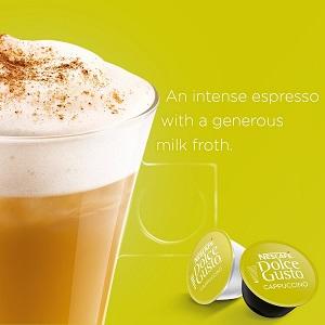 Cappuccino, Coffee, Capsule, Pod, Machine, Mug, Cup, Nestle, Nescafe, Dolce, Gusto, coffe, drinks