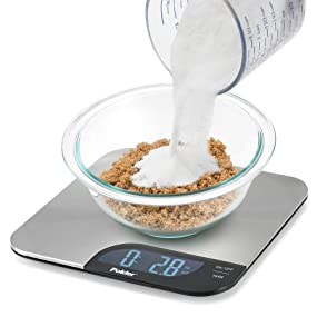 polder kitchen scale, digital kitchen scale