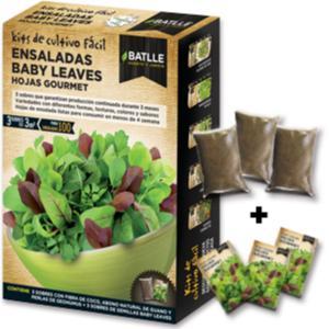 Ensaladas Baby Leaves hojas Gourmet