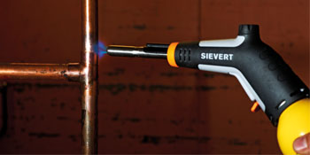 2535-A Blowtorch for All Kinds of Soldering and Heating Applications Includes 8707-01 Standard Flame Burner Sievert Industries 253547 PowerJet Torch