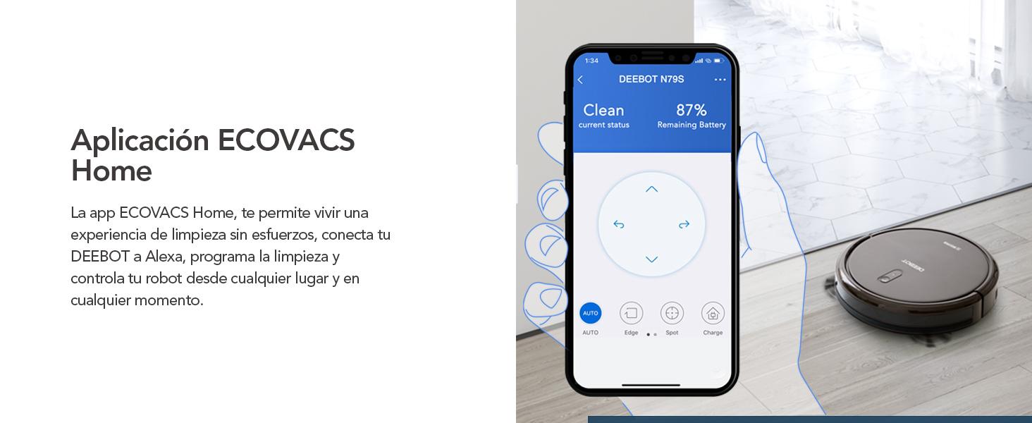 Aplicación ECOVACS Home