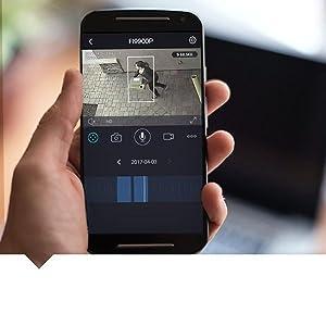 FI9900P - Възпроизвеждане на видео през приложение