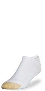 GOLDTOE 656 No-show sock; athletic; sport