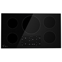 "Empava 36"" Induction Cooktop Electric Stove W/ Black Vitro Ceramic Smooth Surface Glass EMPV-IDC36"